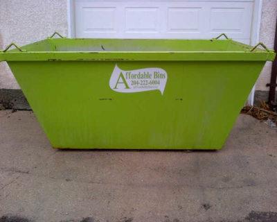 Residential Junk Removal Winnipeg - Dumpster Garbage Bin Rental